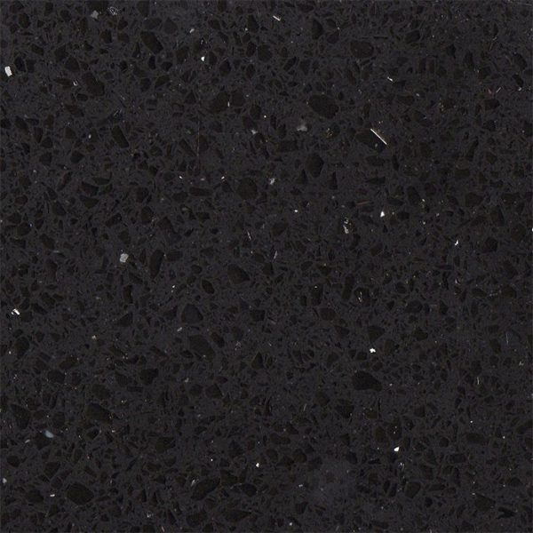Simply Quartz Black Sparkle