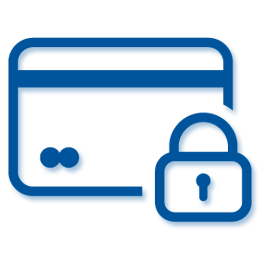 secure-payment-on-blue-kitchen-worktops